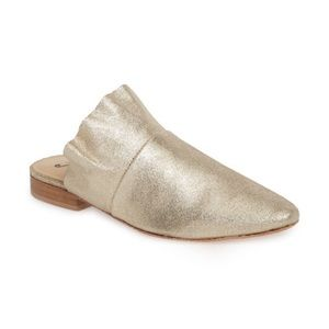 Free People Gold Dress Shoes